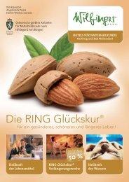 Ihre RING Glückskur - Gesundheitsreise.de