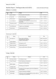 Präsentationstermine (PDF) - Institut für Industrial Design