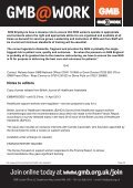 Health Care Assistants - GMB - Page 2