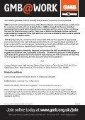 Health Care Assistants - GMB - Page 6