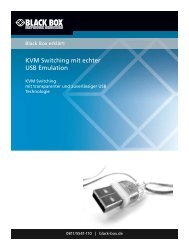 KVM Switching mit echter USB Emulation