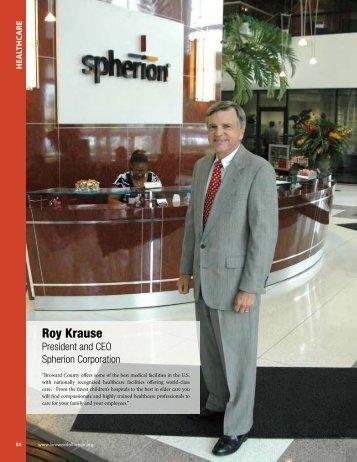 Roy Krause - Broward Alliance