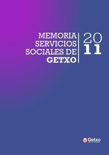 MEMORIA SERVICIOS SOCIALES DE GETXO