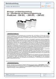 ProfiLine - 150 EC, - 250 EC, - 350 EC - GLT Austria