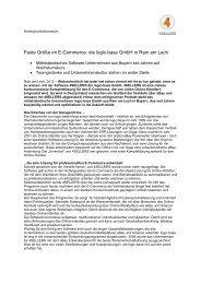 Feste Größe im E-Commerce: die logic-base GmbH in ... - 4Sellers