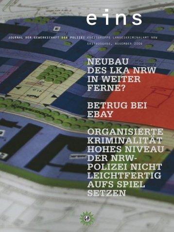 Erstausgabe ? Winter 2006 - LKA NRW