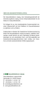 Versorgungsmanagement - Gesundheitsforen Leipzig GmbH - Seite 6