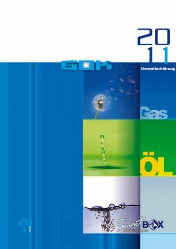 Umwelterklärung 2011 - GOK Regler