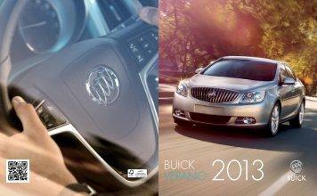 BUICK VERANO 2013 - GM Canada