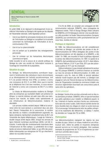 SÉNÉGAL - Global Information Society Watch