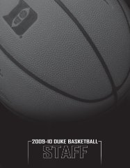 staff - Duke University Athletics