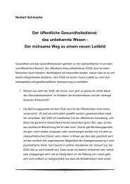 Vortrag Prof. Schmacke - Gesundheitsbeirat-muenchen.de