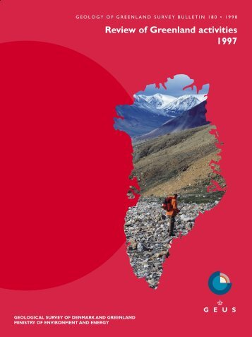 Review of Greenland activities 1997 - Geus