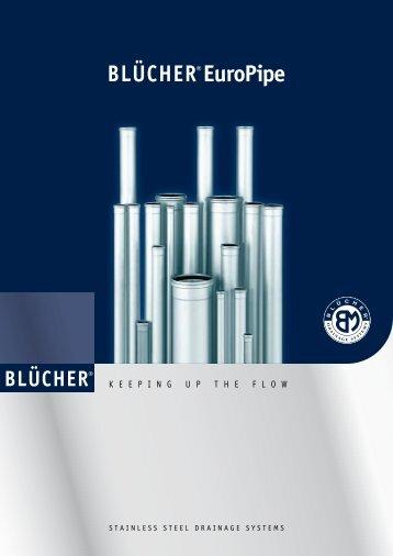BLÜCHER® Europipe Produktpræsentation rør og fittings