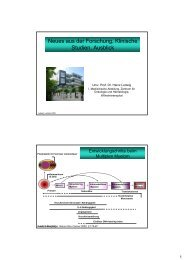 Neues aus der Forschung, Klinische Studien, Ausblick