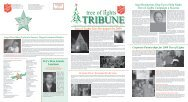 Tribune - Salvation Army
