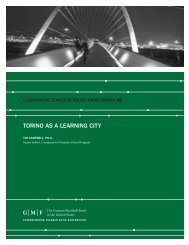TORINO AS A LEARNING CITY - Urban Age Institute