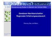 Vortrag 3 Planung, Bau, Bilanz der Renaturierung der Rodau _Wobbe