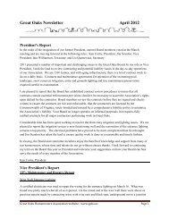 Monthly Newsletter - April 2012 - Goha.us