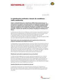 Article - pdf - 57 kb - Geothermie