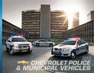 2013 POLICE BROCHURE (pdf) 3 MB - GM Fleet