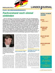 Journal Februar 2004 - gdp-deutschepolizei.de