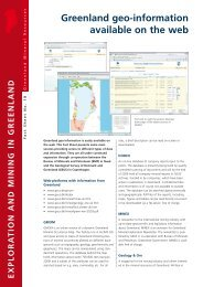 Exploration and mining in Greenland, Facet Sheet No. 18, 2009 - Geus