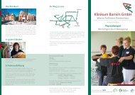 Flyer Physiotherapie - GLG Gesellschaft für Leben und Gesundheit ...