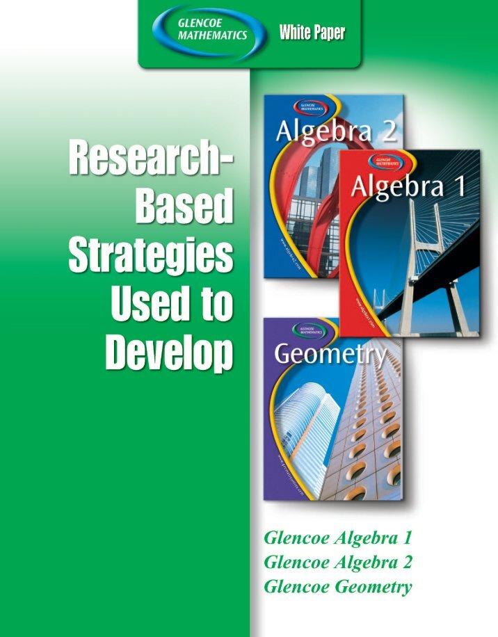 algebra research paper
