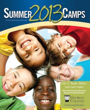 Summer Camp Brochure - Georgia College & State University