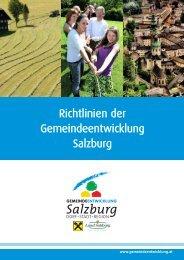 Richtlinien Gemeinde.. - Gemeindeentwicklung