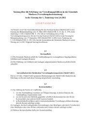 zum Download der Verwaltungskostensatzung - Gemeinde Machern