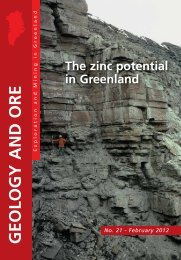 The zinc potential in Greenland - Geus