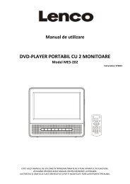 DVD-PLAYER PORTABIL CU 2 MONITOARE - German Electronics