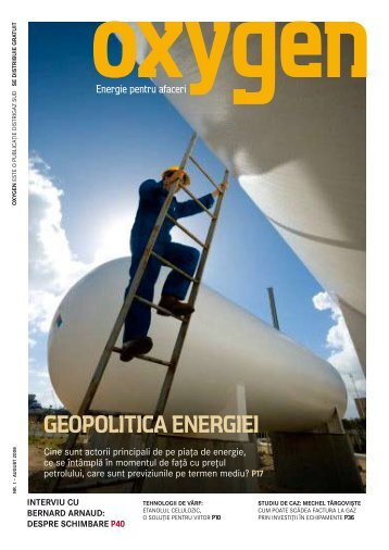 geopolitica energiei - GDF SUEZ Energy România