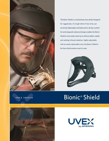 Uvex Bionic DS Rebrand - Honeywell Safety Products