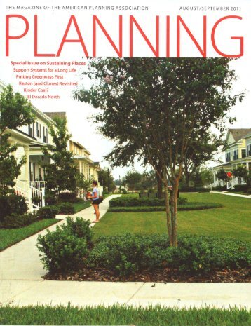 THE MAGAZINE OF THE AMERICAN PLANNING ... - Broward Alliance