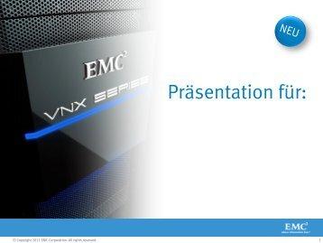 EMC Unified Storage Update