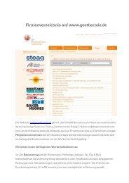 Firmenverzeichnis auf geothermie.de_2013