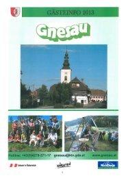 Gastgeberverzeichnis als PDF -Datei - Gemeinde Gnesau