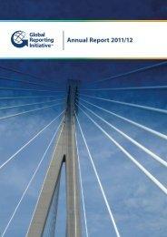 Annual Report 2011/12 - Global Reporting Initiative