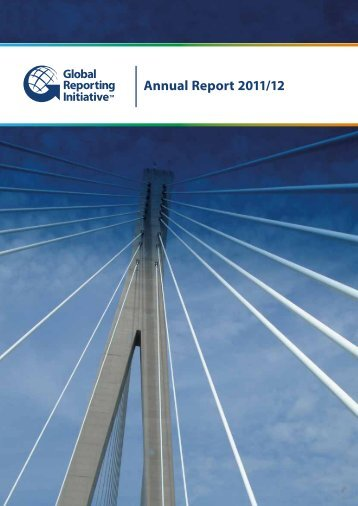 Annual Report 2011/12 - Global Reporting Initiative