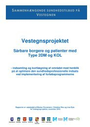Sårbare borgere og patienter med type 2 ... - Glostrup Hospital