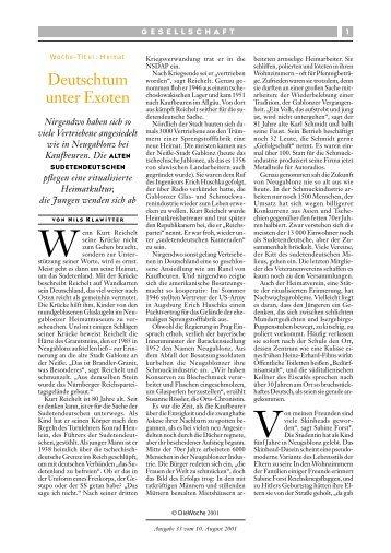 Deutschtum unter Exoten - GemeinsamLernen