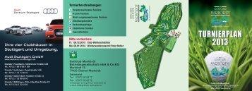 Wettspielkalender 2013 - Golfclub Marhördt