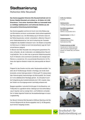 10.2 Stadtsanierung Bremen Hohentor - GfS Bremen