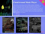CloudAround Music Player - Get Mobile game