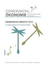 b.it Büroservice & IT-Center GmbH - Gemeinwohl-Ökonomie