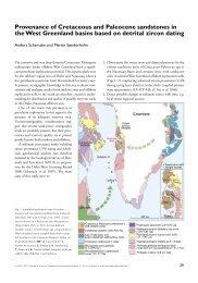 Geological Survey of Denmark and Greenland Bulletin 13 ... - Geus