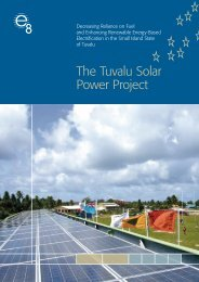 The Tuvalu Solar Power Project - Global Sustainable Electricity ...